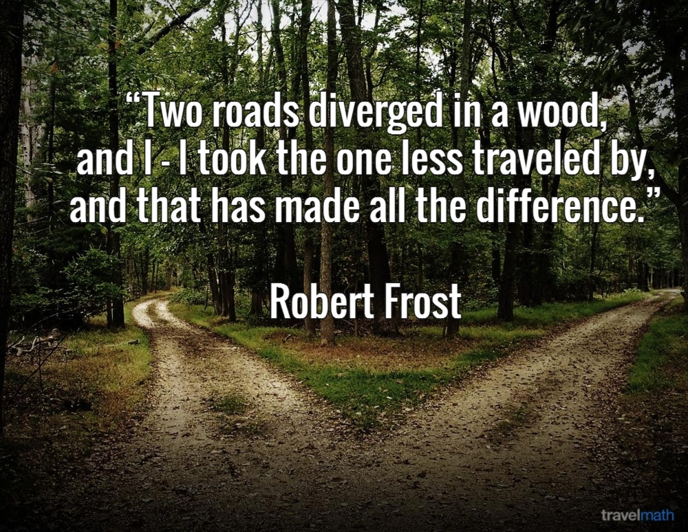 the path less taken